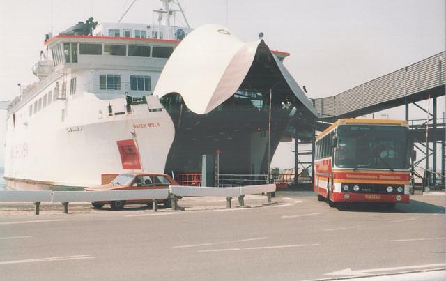 Søndergaard JT 97 675 at Ebeltoft Ferry Port - 28 May 1988 (Ref: 67-30)