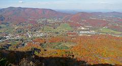 Mt Jefferson - valley below
