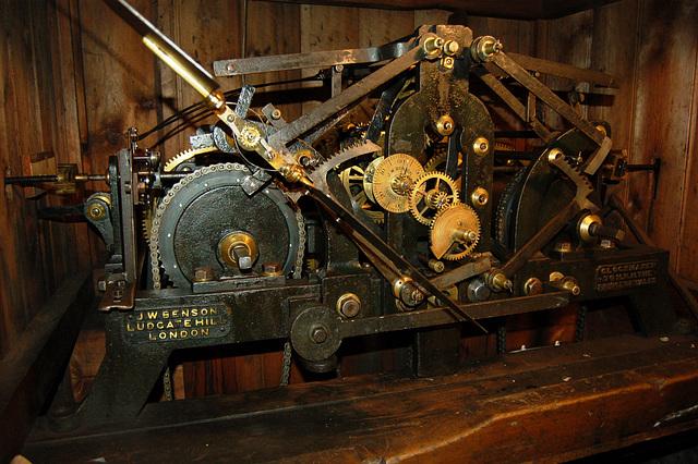 Clock Mechanism, St Andrew's Church, Highbridge Road, Netherton, Dudley, West  Midlands
