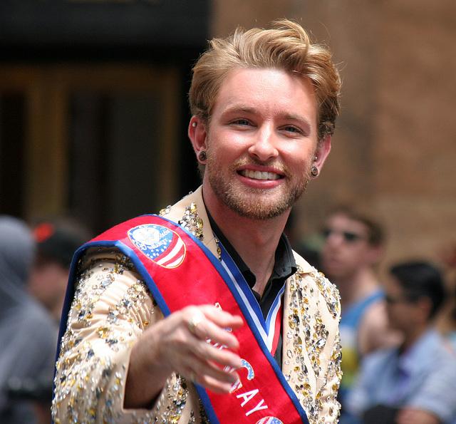 San Francisco Pride Parade 2015 - Mr Gay USA (7240)