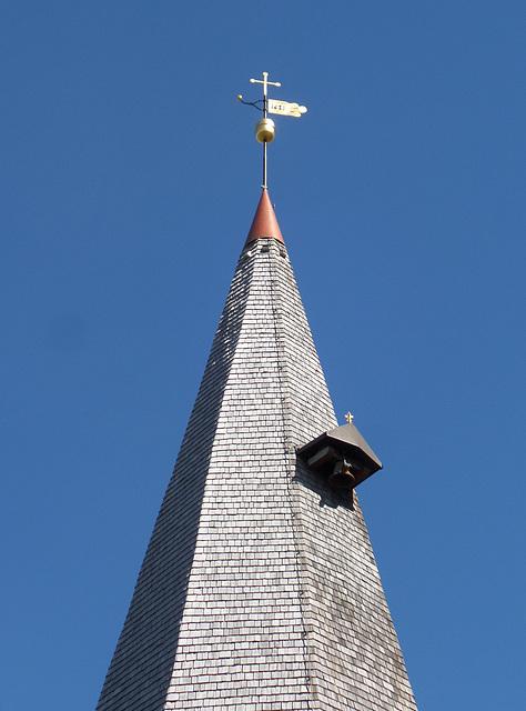 Turmspitze St. Marien in Hollern-Twielenfleth