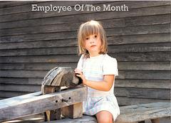 Rachel, Employee Of the Month