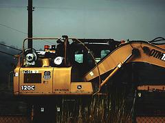 Railroad loader