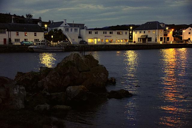 Night on Pier Road