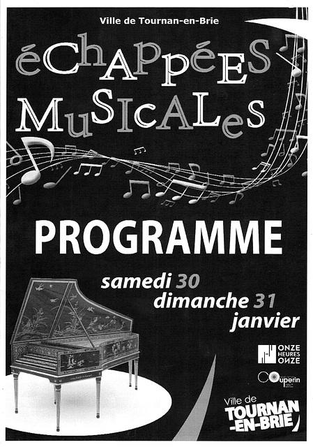 Concert à Tournan-en-Brie le 31/01/2016