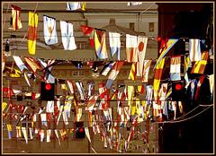 Genova : 70° anniversario Costa Crociere - Parata di bandiere nautiche - (944)