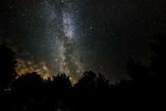 Nachts am Basaltsee - 20150812