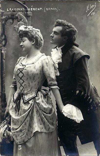 Lise Landouzy & Edmond Clement