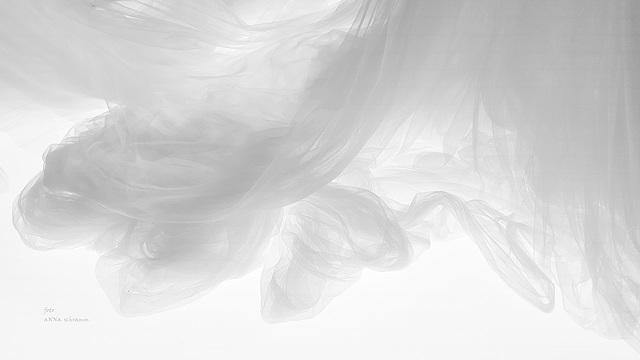 Träumen in einer Tüll-Wolke