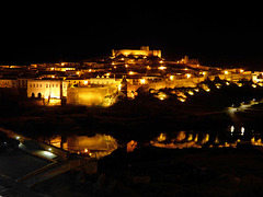 Mertola at night.