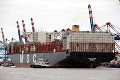 Containerriese MSC ELOANE