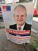 Hamburg 2019 – Defacing posters of politicians is an old habit