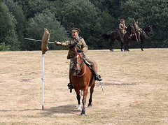 Cavalry practise