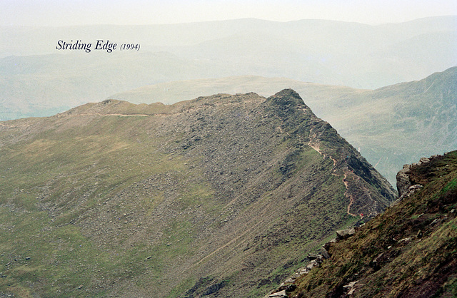 Striding Edge (Scan from June 1994)