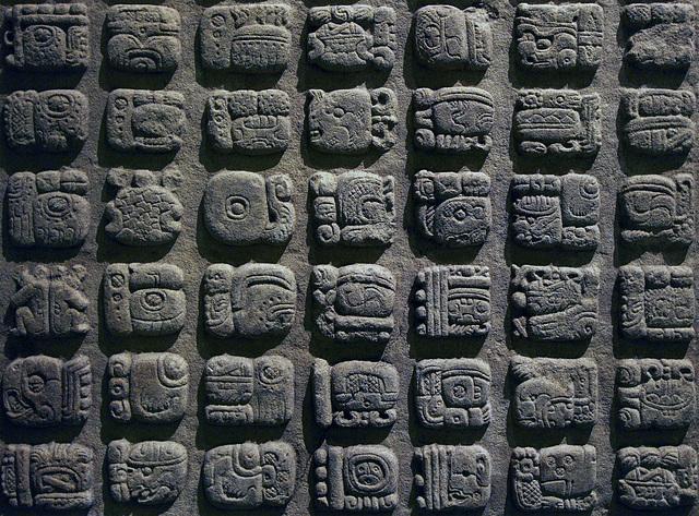 Maya hiërogliefen