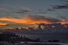 before sunrise, Santo Domingo
