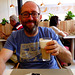 BE - Maasmechelen - me, enjoying a Latte Macchiato
