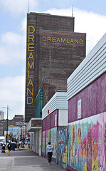 Dreamland and jogger