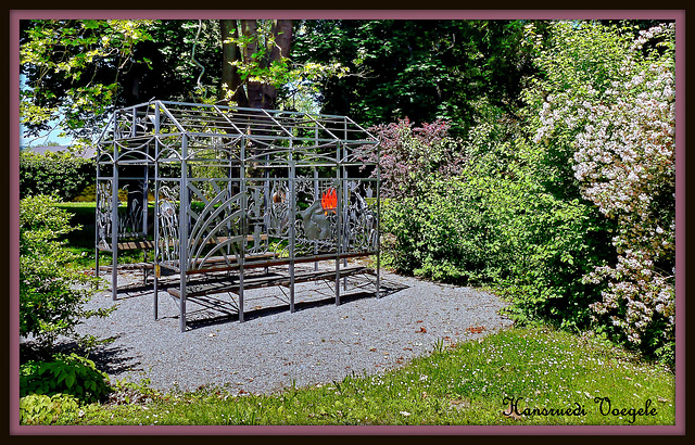 Gartenlaube Schmiedekunst