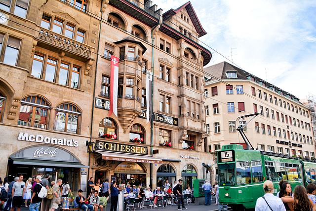 Basel, Marktplatz