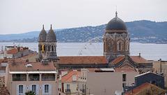 SAINT-RAPHAEL: Le musée archéologique, vue depuis le haut de la tour du musée 25
