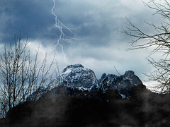 Winter thunderstorm. ©UdoSm