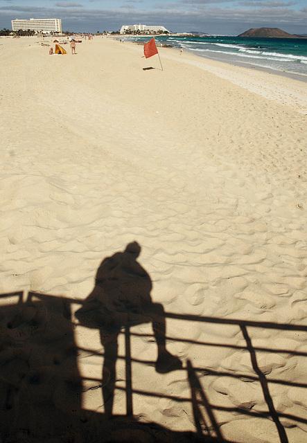 Sand-Schatten