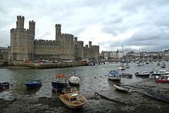 Wales - Caernarfon Castle