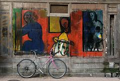 Le vélo est surveillé