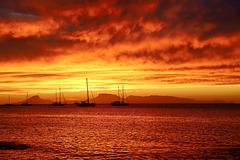 Sunset sur l'île sacrée pip