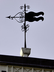 Wind vane Farnham Castle Gatehouse