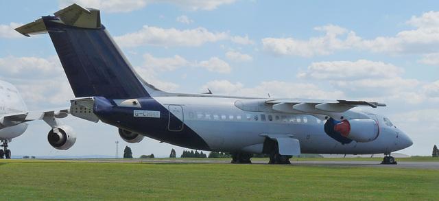 Avro RJ85 G-CHHA