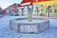 Barth, Marktbrunnen (2)