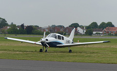 G-BWOI at Solent Airport - 8 June 2018