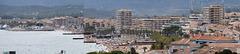SAINT-RAPHAEL: Le musée archéologique, vue depuis le haut de la tour du musée 32