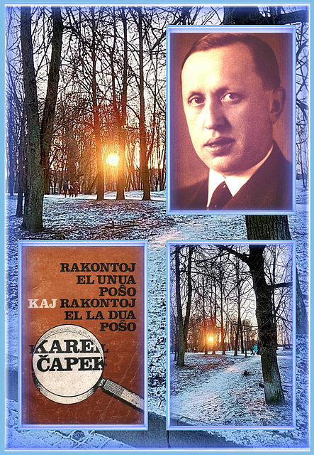 """Karel Čapek (9.1.1890-25.12.1938) - """"Rakontoj el la unua kaj el al dua poŝo!"""" - SENPAGE ELŜUTEBLAJ 48 tekstoj kun sonregistraĵoj !!"""