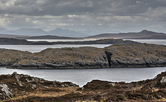 The rugged view from Achmelvich