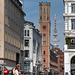 Communication now and then - Old Postal Building and Telecommunication Tower / Hamburg, Alte Post und Fernsehturm.