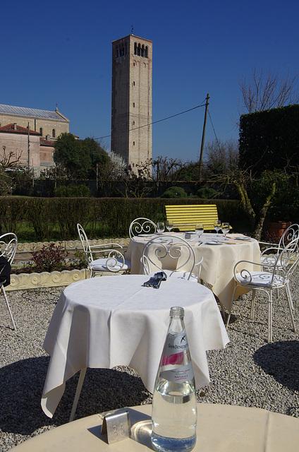 Garden of Locanda Cipriani