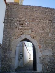 Cemetery's door.