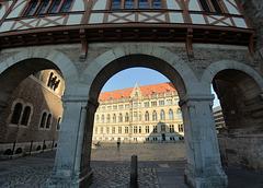 Burg Dankwarderode und Rathaus in Braunschweig