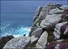 Heather, granite and ocean.