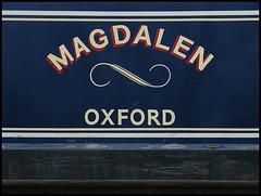 Magdalen narrowboat