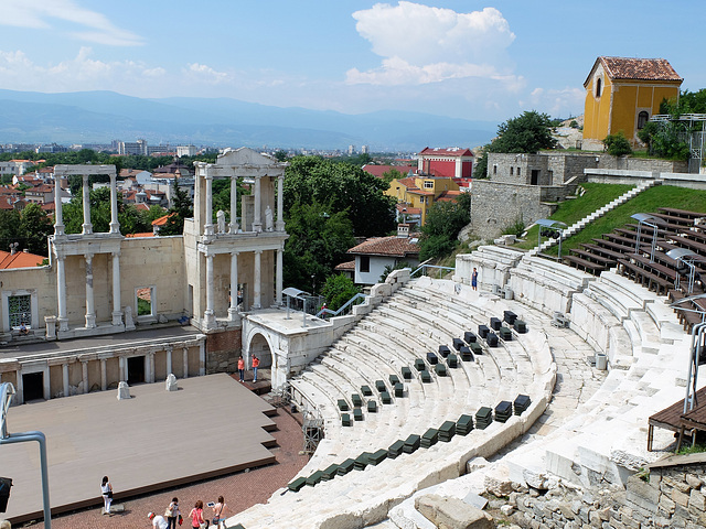 Antikes Theater in Plovdiv/Bulgarien