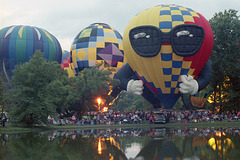 Crowd At The Balloonfest