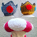 Princess crowns and Toadette