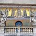 Detail of the Facade of Santa Maria in Trastevere, June 2012