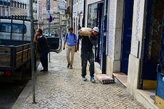 Lisbon 2018 – Carrying cement