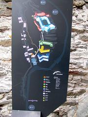 "IMG 0527 i1 mapo de la fortifikaĵo ""Forte di Bard"""