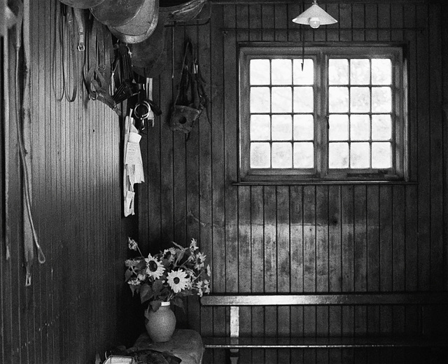 Tack room at Wightwick Manor 1